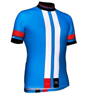 Radtrikot Race Blue Edition – Bild 1