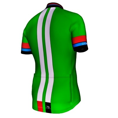 Radtrikot Race Green Edition – Bild 2