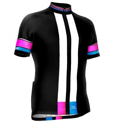 Radtrikot Race Black-Pink Edition – Bild 1
