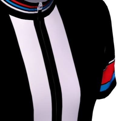 Radtrikot Race Black Edition – Bild 4