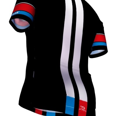 Radtrikot Race Black Edition – Bild 3