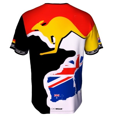 Radtrikot Down under Australien – Bild 5