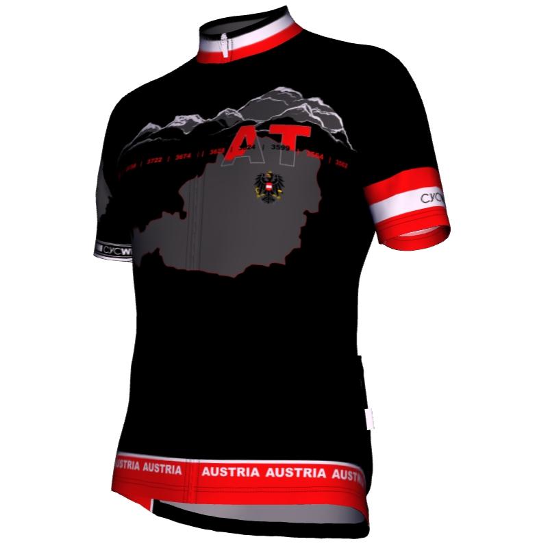 Radtrikot Austria Black Edition 001