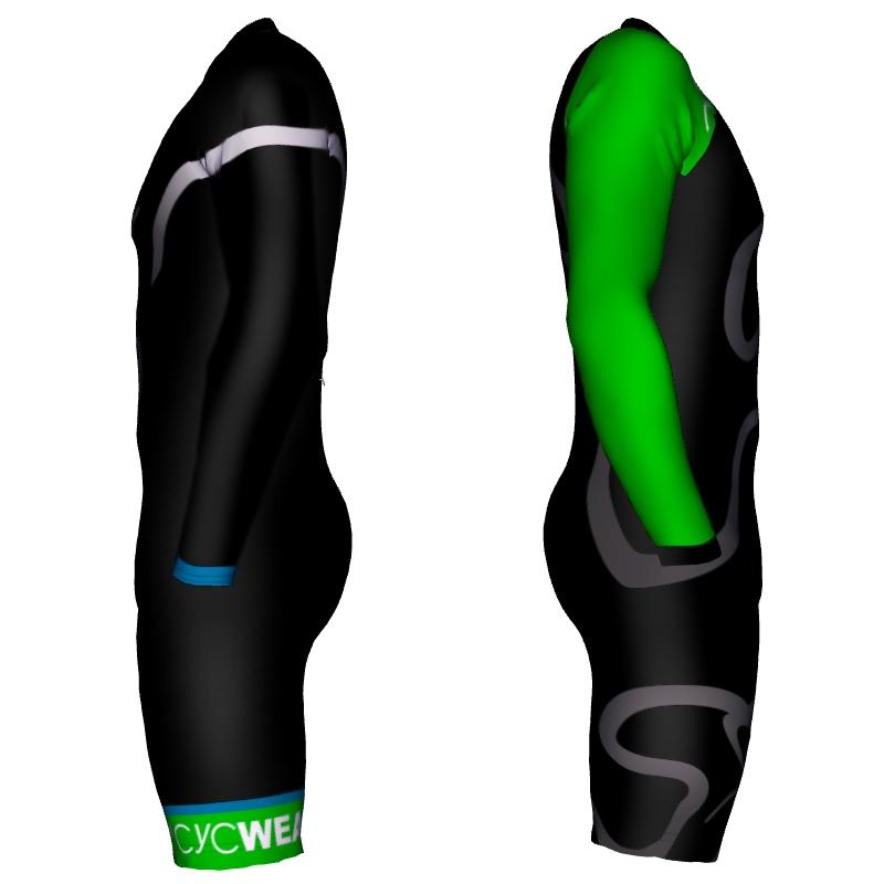 Skinsuit Einteiler Zeitfahranzug Aero 2 Langarm – Bild 2
