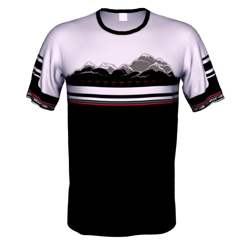 MTB Trikot Bike Shirt Transalp Alpencross – Bild 4