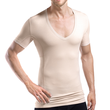 laulas [[EXTREME]] - functional-undershirt against underarm sweat - men – skin-colored