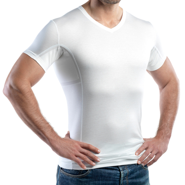 laulas functional undershirt LIGHT  - against underarm sweating - prevents your medium-sized  sweat stains immediately