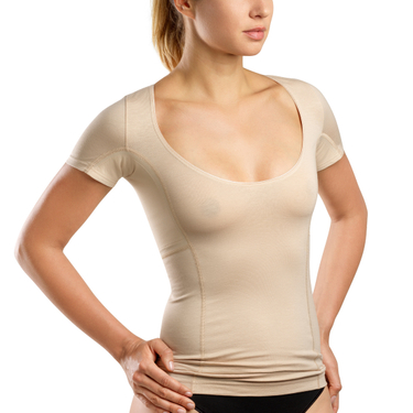 laulas women's functional undershirt to prevent underarm sweat – skin