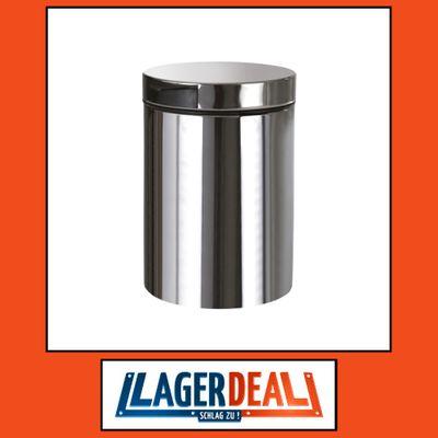Abfalleimer 170 x 235 x 240 mm - 3L Edelstahl poliert