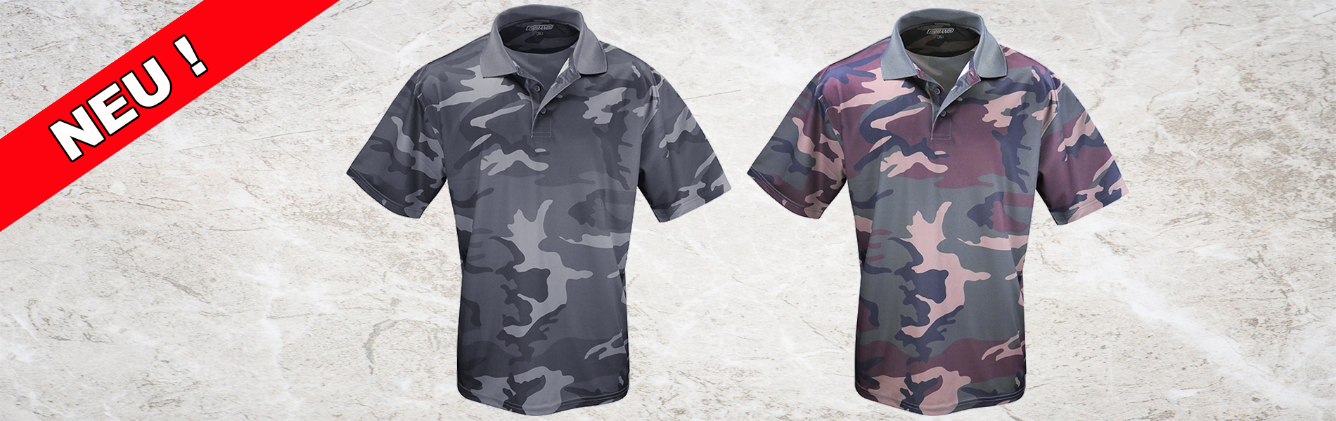 Tactical Camo Polo Shirts QuikDry