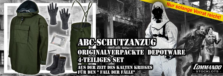 ABC-Schutzanzug Komplett-Set 4tlg.