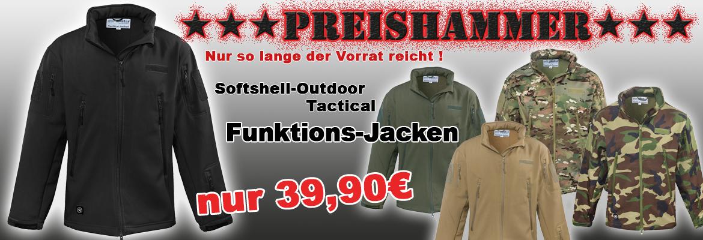 Softshell Jacke Tactical Style oliv
