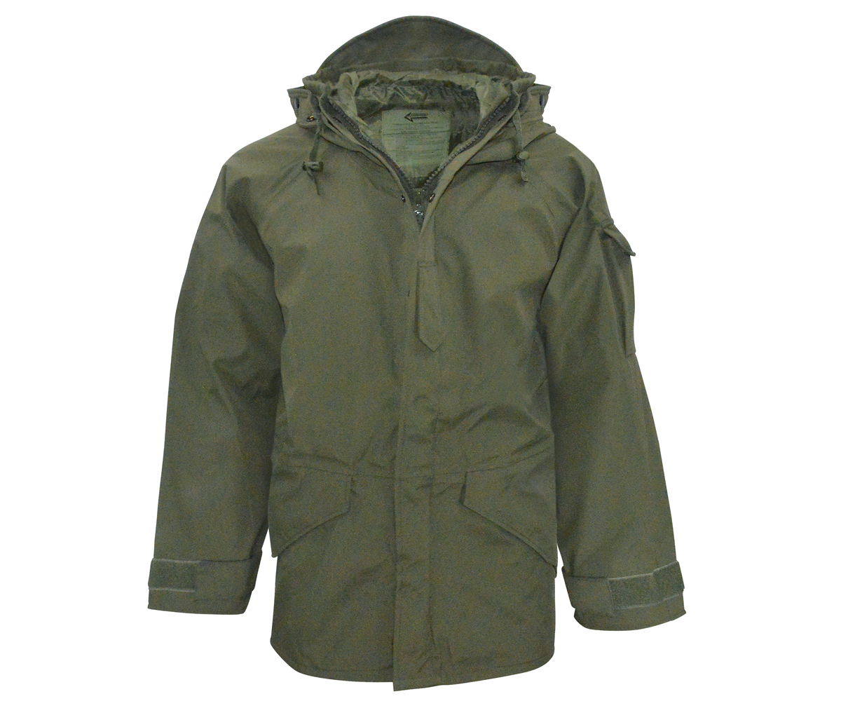 competitive price 9550e ee295 Cold weather rain Parka oliv