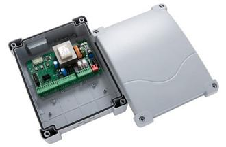 Torantrieb Set Axi 230: 2 Antriebe mit integr. Anschlägen Steuerung Handsender (ohne Montage) – Bild 3