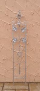 Rankstab Spalier Rankhilfe Rosenstab Obelisk Floranti Zink – Bild 1