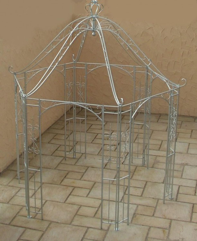 pavillion metall pavillon pavilion gartenlaube schmiedeeisen romanco eisen zink gartengestaltung. Black Bedroom Furniture Sets. Home Design Ideas