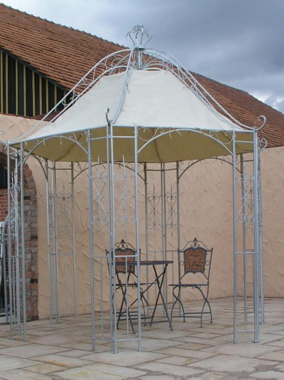 Pavillion Metall Pavillon Pavilion Gartenlaube Schmiedeeisen Romanco
