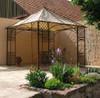 Pavillion Metall Pavillon Pavilion Laube Schmiedeeisen Modena Roh Rost Gross 280 001