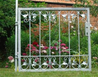 Gartentür Gartentor Pforte Monaco-FT100/100 Zink – Bild 12