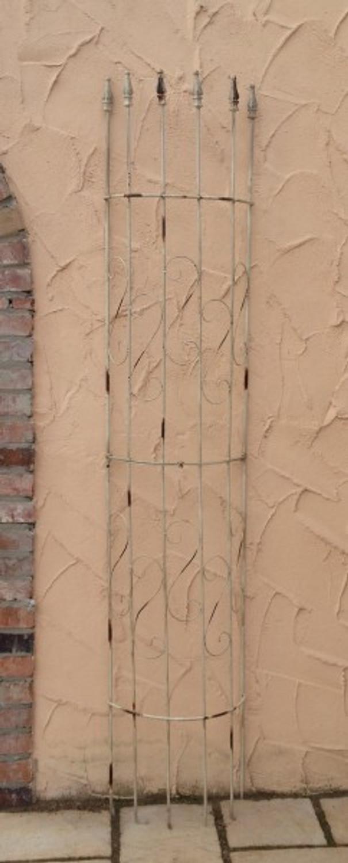 rankgitter spalier rankhilfe fallrohr halbrund pisa shabby. Black Bedroom Furniture Sets. Home Design Ideas