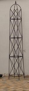Moderner Rankstab Rankhilfe Obelisk Rosenstab Clematis Alina XXL 260 ROST Riesig – Bild 1