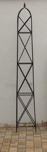 Moderner Rankstab Rankhilfe Obelisk Rosenstab Clematis Alina XXL 260 ROST Riesig – Bild 3