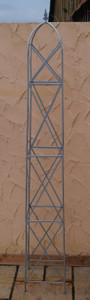 Rankstab Rankhilfe Obelisk Rosenstab Clematis Alina XXL 260 Riesig FeuerVerzinkt – Bild 1