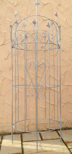 Rankgitter Spalier Rankhilfe Staudenhalter  Dahlie Serra-M Clematis Zink 150cm – Bild 1