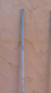 Stahlpfosten Meran 30 230 Verzinkt für Rankgitter Rankgitter FLEX – Bild 1