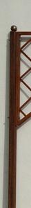 Stahlpfosten Monaco 30 für freie Aufstellung Rankgitter FLEX