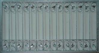 Schmiedeeisen Eisen Zaun Gartenzaun Metall Monaco-Z80/200 Verzinkt 200 cm FLEX – Bild 5
