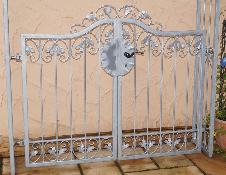 Komplett Neu Tor Gartentür Pforte Rosenbogen Tür Monaco-RBGT-RBS 140/200/30  AF09