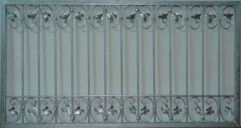 Schmiedeeisen Zaunelement Eisen Gartenzaun Metall Monaco Z60 200