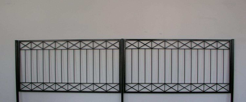 10 mtr metall zaun z une zaunelement modern crossline z120 200 verzinkt pfosten z une. Black Bedroom Furniture Sets. Home Design Ideas