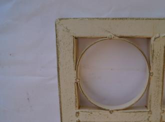 Metall Eisen Rankgitter Spalier Rankhilfe Wandgitter Meran 60  / 240 XXL shabby white – Bild 7