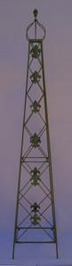 Rankstab Rankhilfe Rank Pfosten Obelisk Cornwall Grün – Bild 3