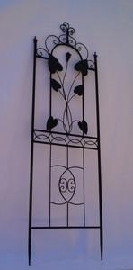 Exklusives Rankgitter Rankstab Spalier Rankhilfe Obelisk Floranti XXL schwarz – Bild 1