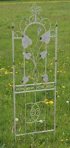 Exklusives Rankgitter Rankstab Spalier Rankhilfe Obelisk Floranti XXL shabby White – Bild 1