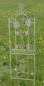 Exklusives Rankgitter Rankstab Spalier Rankhilfe Obelisk Floranti XXL shabby White – Bild 3