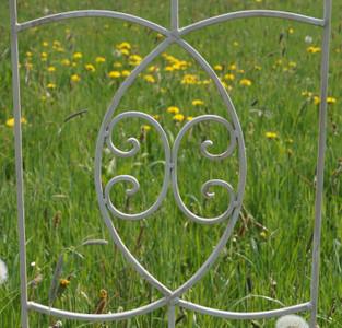 Exklusives Rankgitter Rankstab Spalier Rankhilfe Obelisk Floranti XXL shabby White – Bild 5