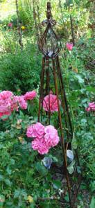 Rankstab Spalier Rankhilfe Obelisk FloraQueen1 – Bild 1