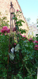 Rankstab Spalier Rankhilfe Obelisk FloraQueen1 – Bild 6