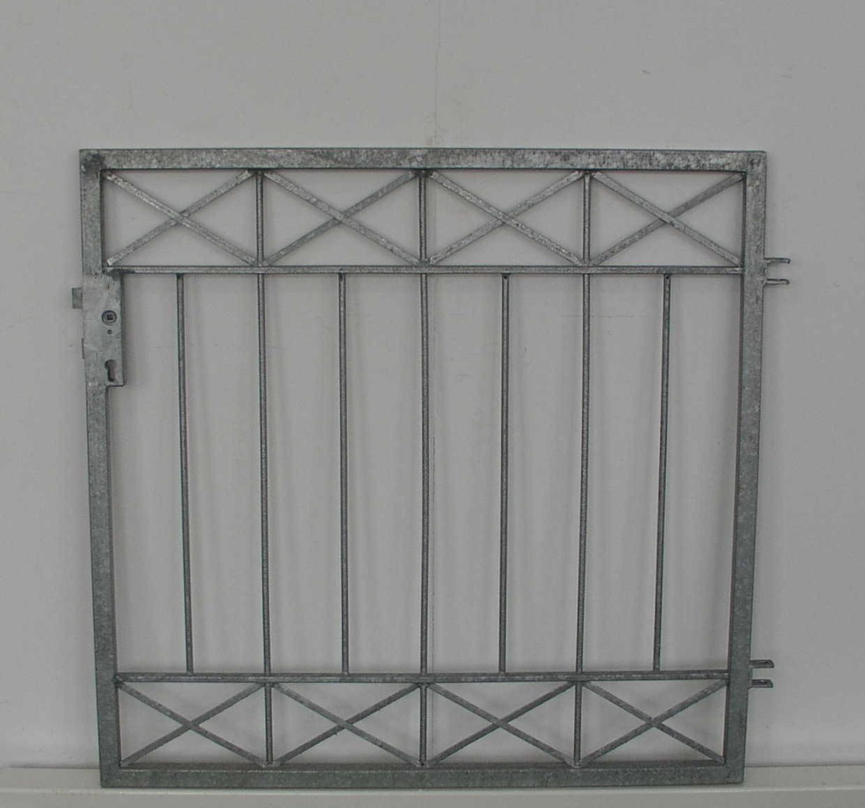 gartentür gartentor metall pforte crossline-ft100/80s zink