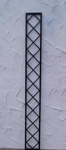 Wand Rankgitter Spalier Rankhilfe Wandgitter Bozen 25 schwarz