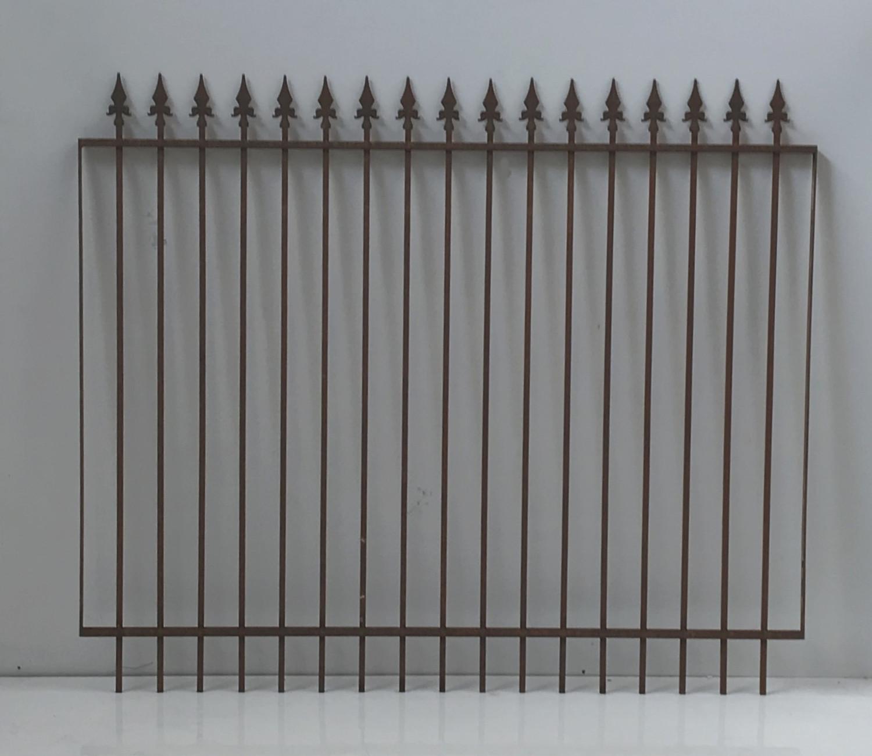 Schmiedeeisen Gartenzaun Zaun Metall Eisen Limone Z160 191 I Rost