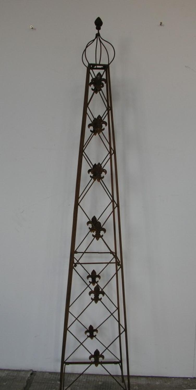 rankstab rankhilfe rank pfosten obelisk cornwall rost ebay. Black Bedroom Furniture Sets. Home Design Ideas