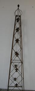 Rankstab Rankhilfe Rank Pfosten Obelisk Cornwall Rost – Bild 2