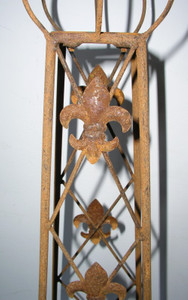 Rankstab Rankhilfe Rank Pfosten Obelisk Cornwall Rost – Bild 6