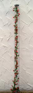 Spalier Rankhilfe Bohnen Tomaten Turm  Tomatensäule  Veronique 110 ROST Natur – Bild 1