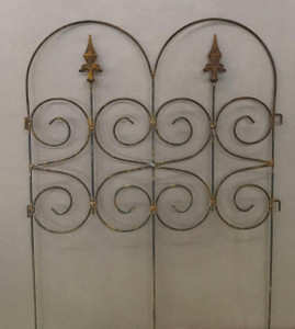 Beeteinfassung BeetZaun Rasenkante Zaun Barcelona Rost 65 x 81 cm  – Bild 1